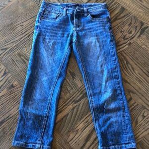 Vigoss Girls Capri Jeans